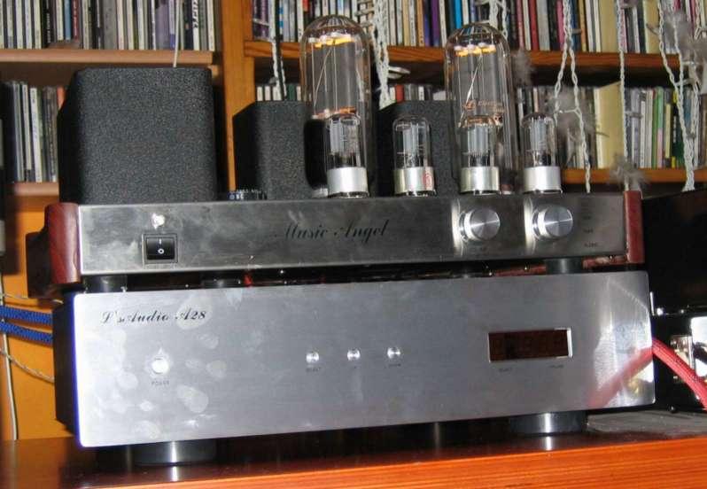 SET triode amplifier Music Angel 845 Hong Kong