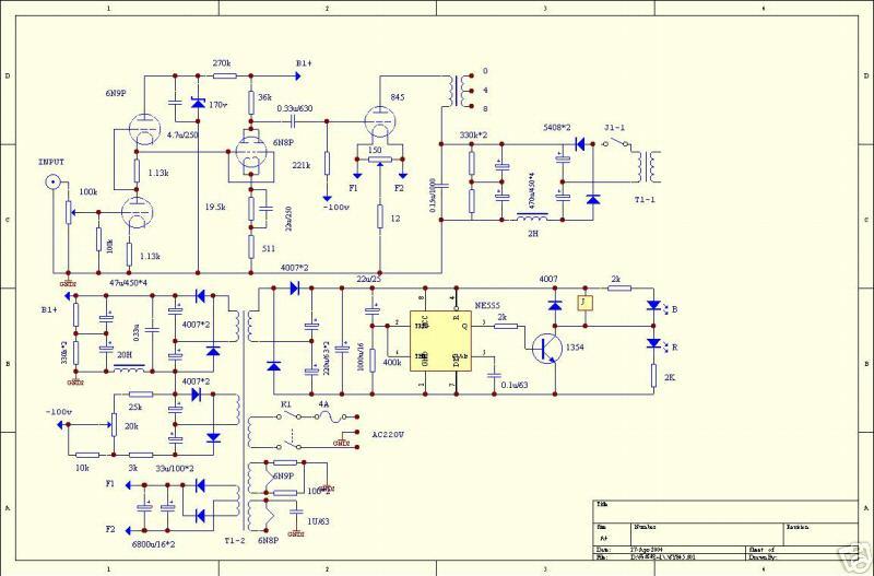 set triode amplifier music angel 845 hong kong diy tube guitar amp schematics 845 factory schematics (not real life)