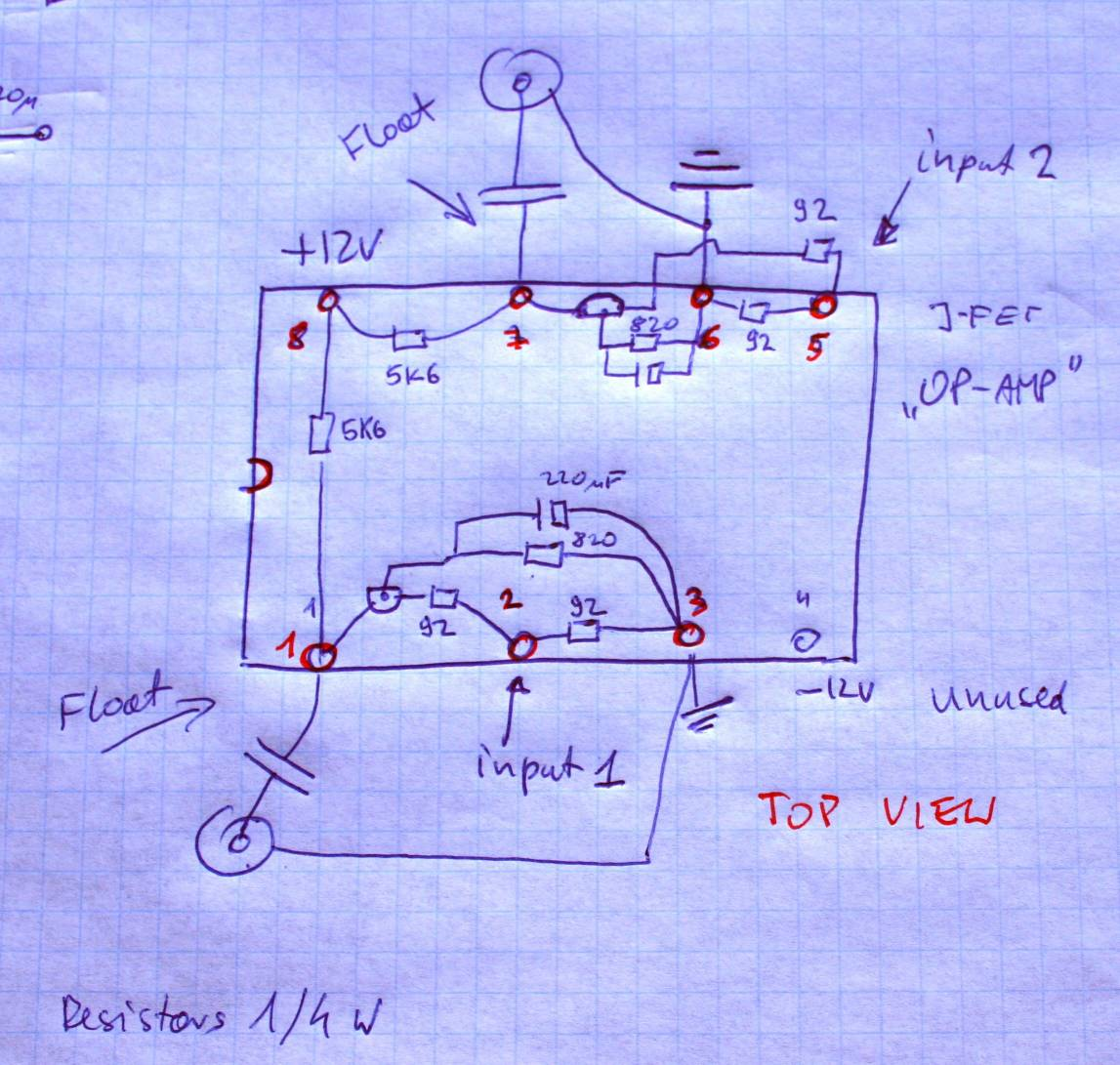 Jfet Pin Diagram Opamp Offset Null Circuit Tradeoficcom House Wiring