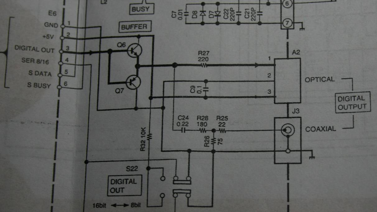 Cd Transport Diy Rca To Coaxial Schematic On The Secondary There Is Expected 75 Ohm Resistor But Wait A Minute It In Series Not Parallel Output And Screen Grounded Via