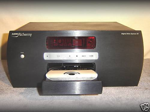 Tv, Video & Audio Cd Player Audio Alchemy Digital Drive System Iii Heim-audio & Hifi