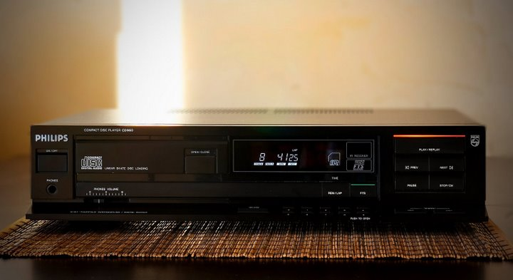 Philips High End Cd Player Cd 960